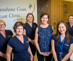 Breast Clinic Dr and Nurses photo
