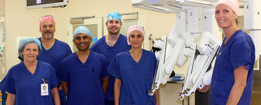 Robotically assisted prostate cancer surgery introduced